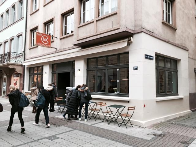 SQUARE Delicatessen pizza Strasbourg Little Italy facade