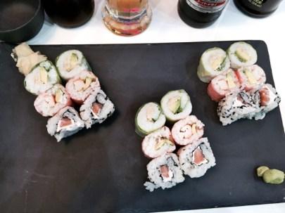 Resto Sushi's au centre ville de Strasbourg makis