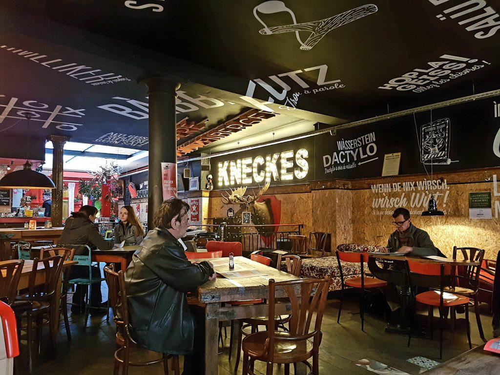 le troquet des kneckes bar brasserie Strasbourg