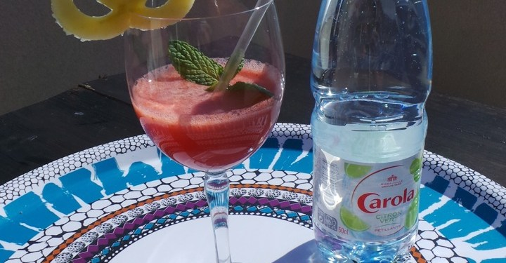 Carola nouvelle eau aromatisee Alsace