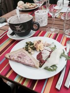 Villa Schmidt brunch Strasbourg dimanche jardin 2 rives assiette