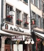 Au bon vivant restaurant alsacien Strasbourg 1