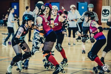 Hell's Ass derby girls Strasbourg