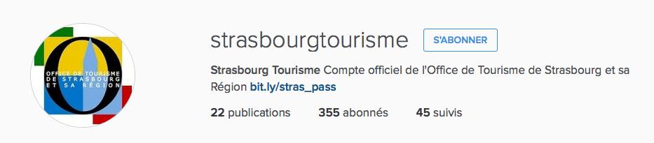capture instagram Strasbourg tourisme