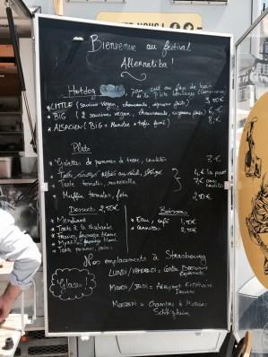A Mi Chemin food truck Strasbourg Alsace