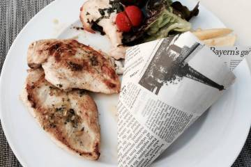 Hey Dude restaurant Strasbourg poulet