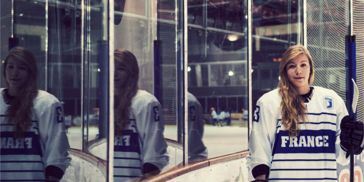 Jade Vix Strasbourg hockey portrait 1