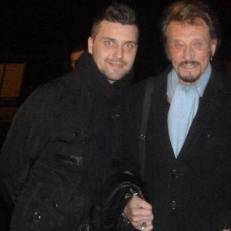 Sebastien blogueur people strasbourg Johnny Halliday