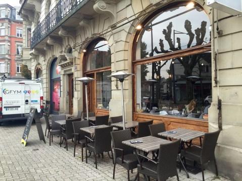 Chez Mon Ex Strasbourg restaurant esplanade