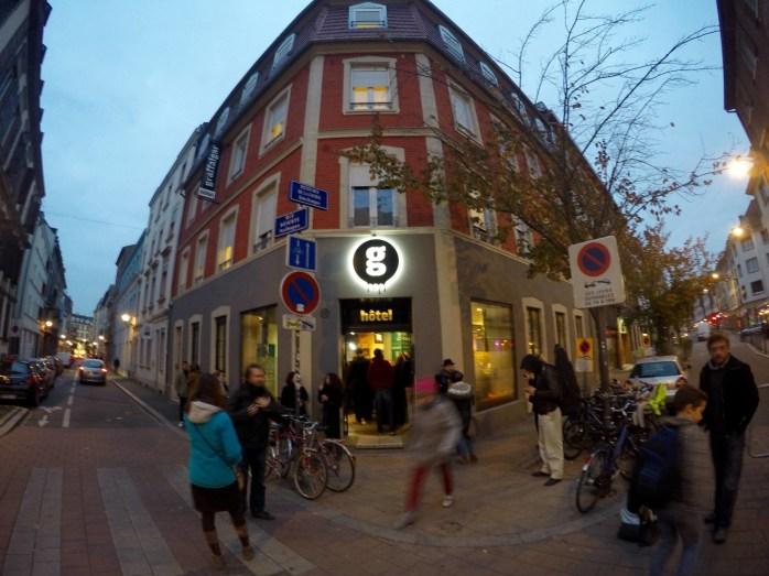 Graffalgar hôtel Strasbourg streetart