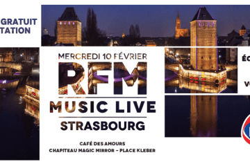 RFM MUSIC LIVE STRASBOURG concours
