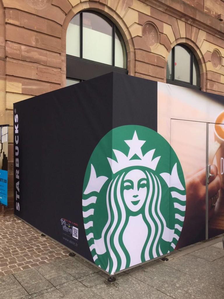 STARBUCKS Strasbourg ouverture