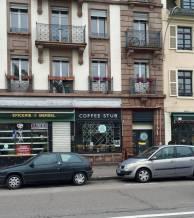Coffee Stub Strasbourg quai des pêcheurs