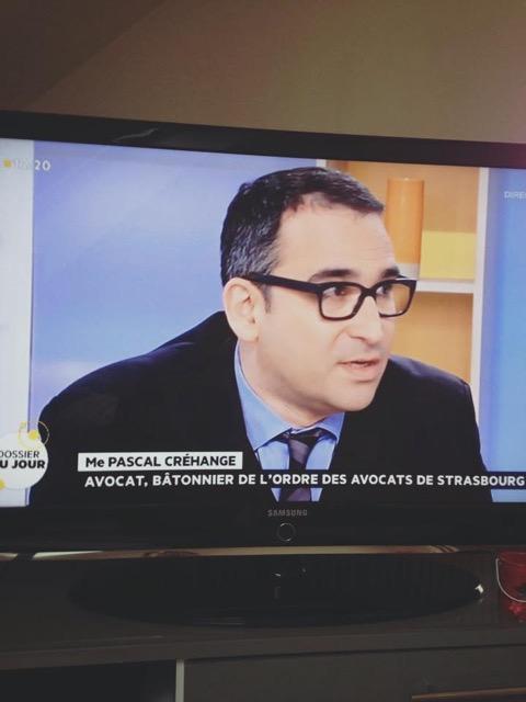 Pascal Créhange avocat Strasbourg batonnier ordre des avocats portrait