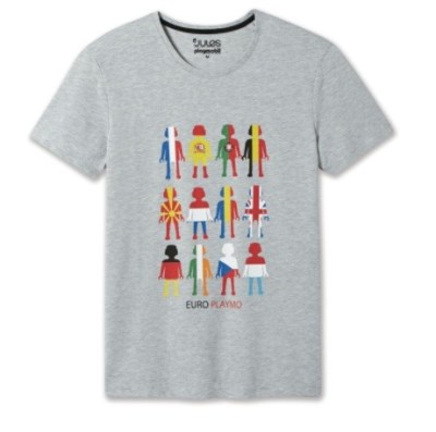 EURO 2016 shopping Place des Halles Strasbourg t shirt playmobil Jules