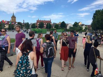 Vialsace blog challenge Strasbourg application Alsace Colmar