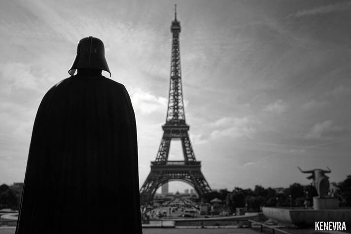 Kenevra Strasbourg Toy Photography Batman Dark Vador Assassin Creed 1
