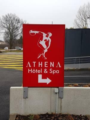 ATHENA hotel spa Strasbourg Hautepierre brunch 1