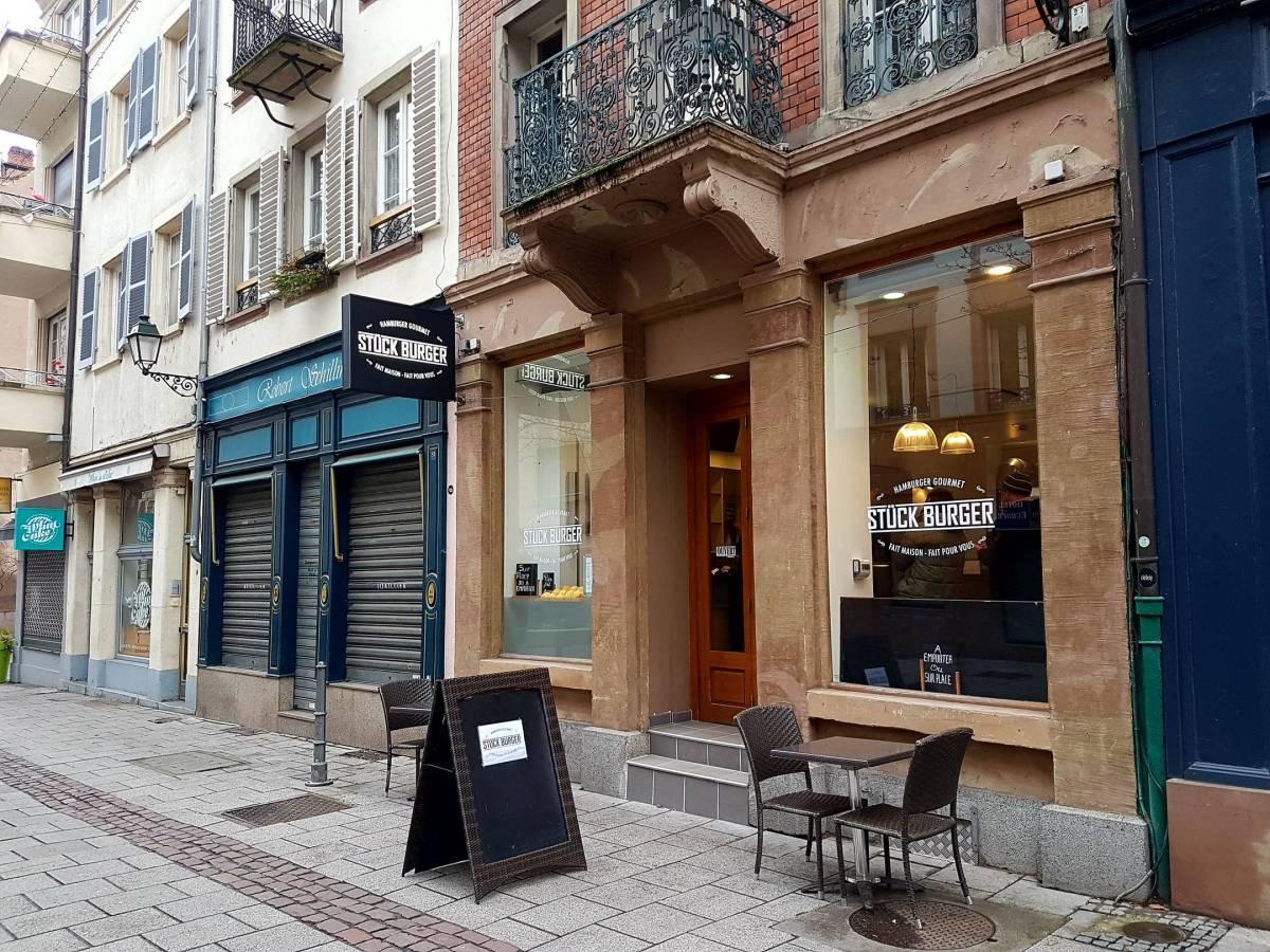 Kapoué test n°117: Stück burger, rue du fossé des Tanneurs à Strasbourg