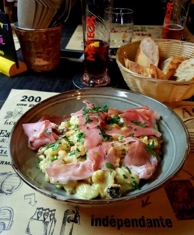 comptoir Eugène spaetzle gratin Strasbourg restaurant