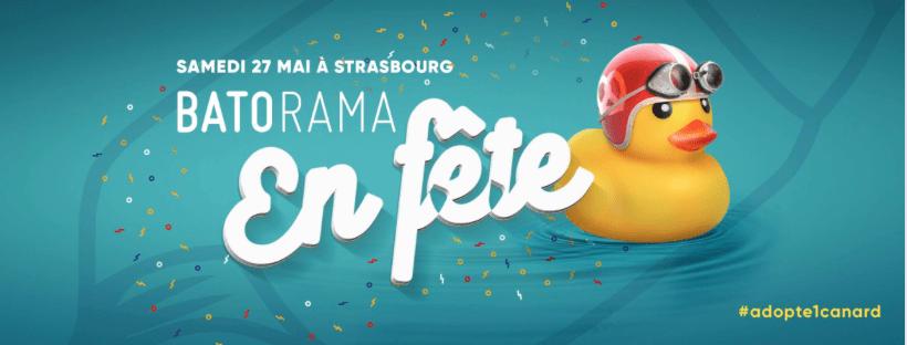 Batorama organise la première « Duck Race » à Strasbourg !