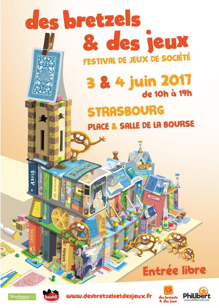 Des Bretzels et Des Jeux 2017 festival jeux de société Strasbourg Place de la Bourse