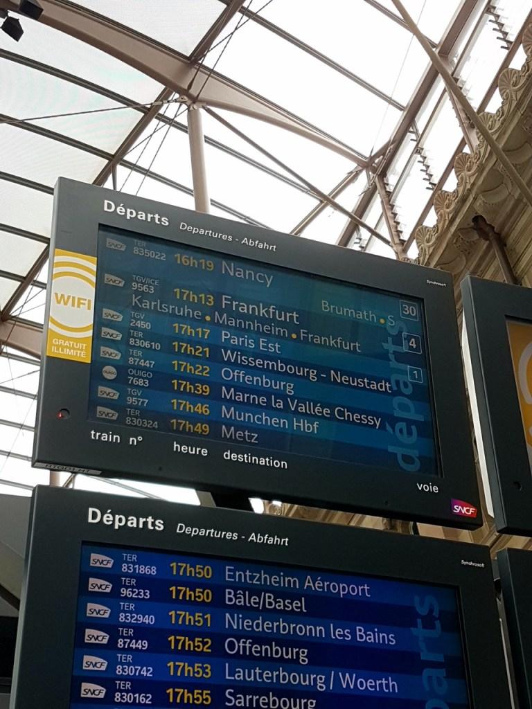OUIGO Strasbourg Paris TGV SNCF