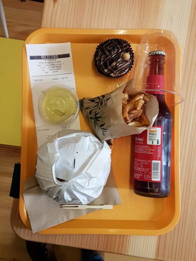 Vélicious Burger Strasbourg vegan bio Grand'Rue