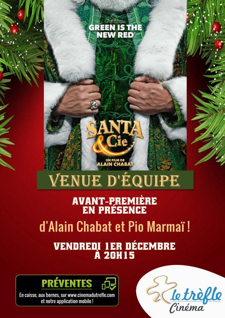 Santa et Cie Alain Chabat cinéma le Trèfle concours