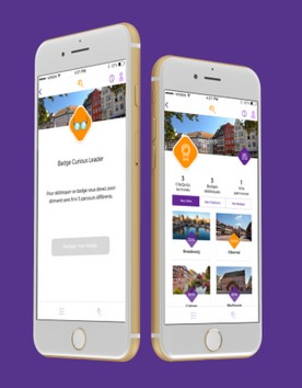 CityQuizz application jeu de piste Strasbourg Alsace Marché de Noël smartphone