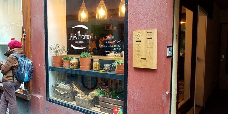 Papa Ciccio pâtes italiennes à emporter Strasbourg centre ville rue des Frères