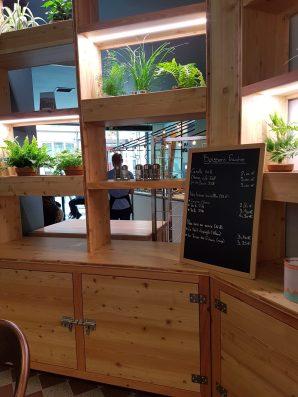 Le Café Potager Strasbourg fast food centre ville bocaux