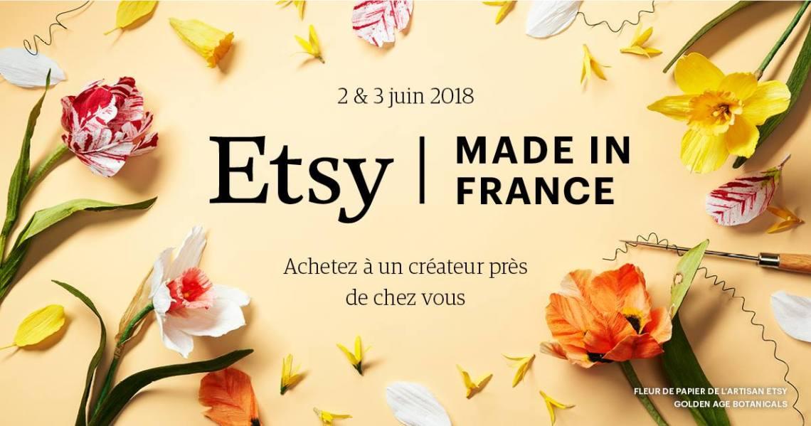 ETSY STRASBOURG événement juin 2018
