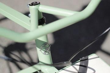 Manivelle vélo Strasbourg cycle campagne financement participatif close up