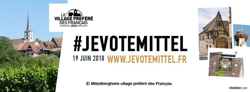 """Tous derrière Mittelbergheim pour """"le village préféré des Français"""" !"""