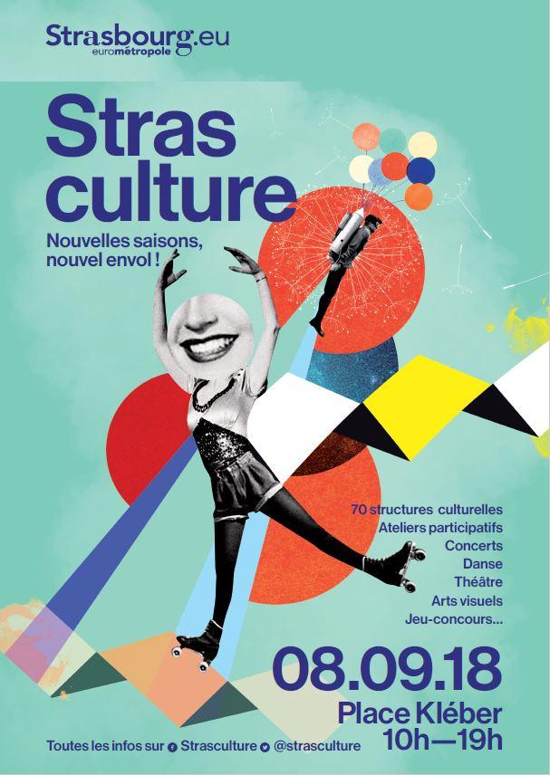 strasbourg strasculture 2018 place kleber événement culture