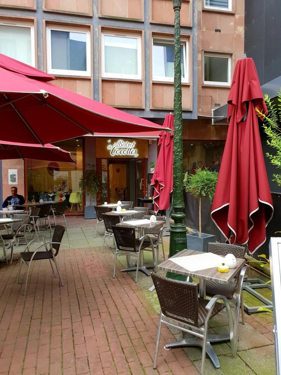 Kapoué test n°157: Le Bistrot des Cocottes, rue du saumon à Strasbourg