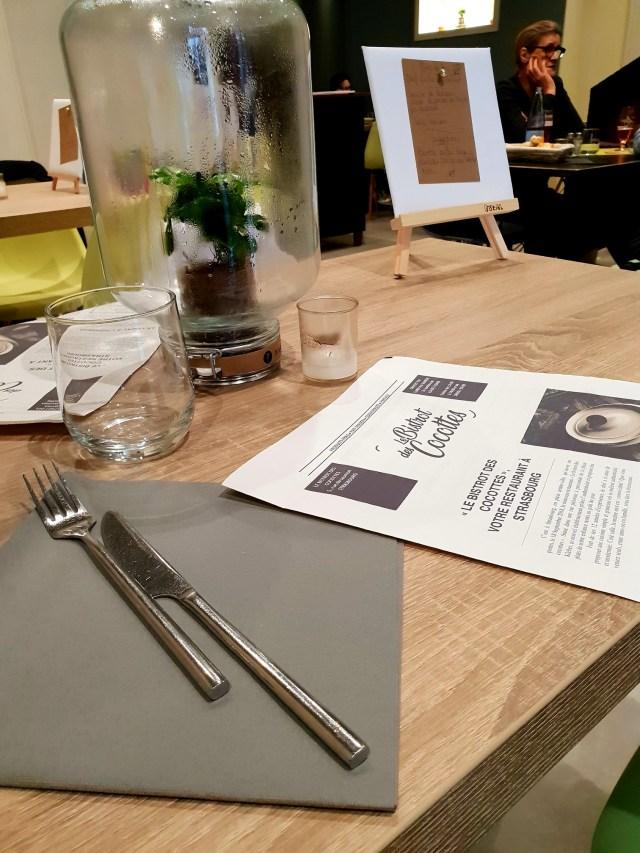 Bistrot des Cocottes Strasbourg restaurant rue du saumon