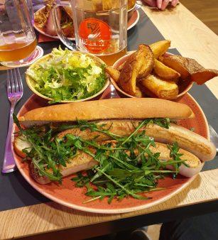 Le Tigre brasserie Strasbourg bière Kronenbourg tartes flambées Faubourg National