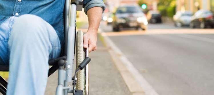 mobilité Strasbourg fauteuil roulant