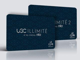 cartes d'abonnement UGC illimité