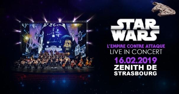 ciné concert Strasbourg Star Wars