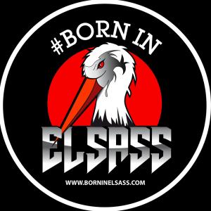 Born In Elsass t-shirt concours Alsace textile homme femme enfant logo