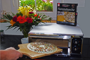 Friedrich Surgelés tarte flambée Alsace recette four cuisine