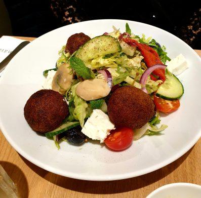 Mavrommatis restaurant salade