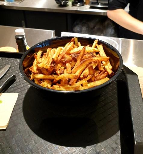 Copper Branch fast food vegan Strasbourg frites