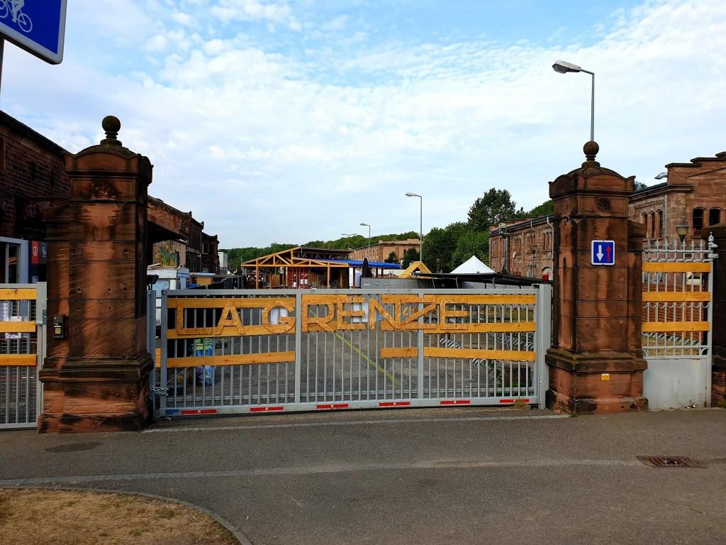 La Grenze terrasse Strasbourg accueil