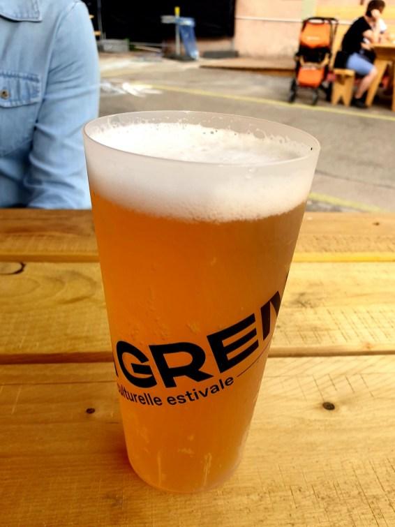 bière La Grenze terrasse Strasbourg