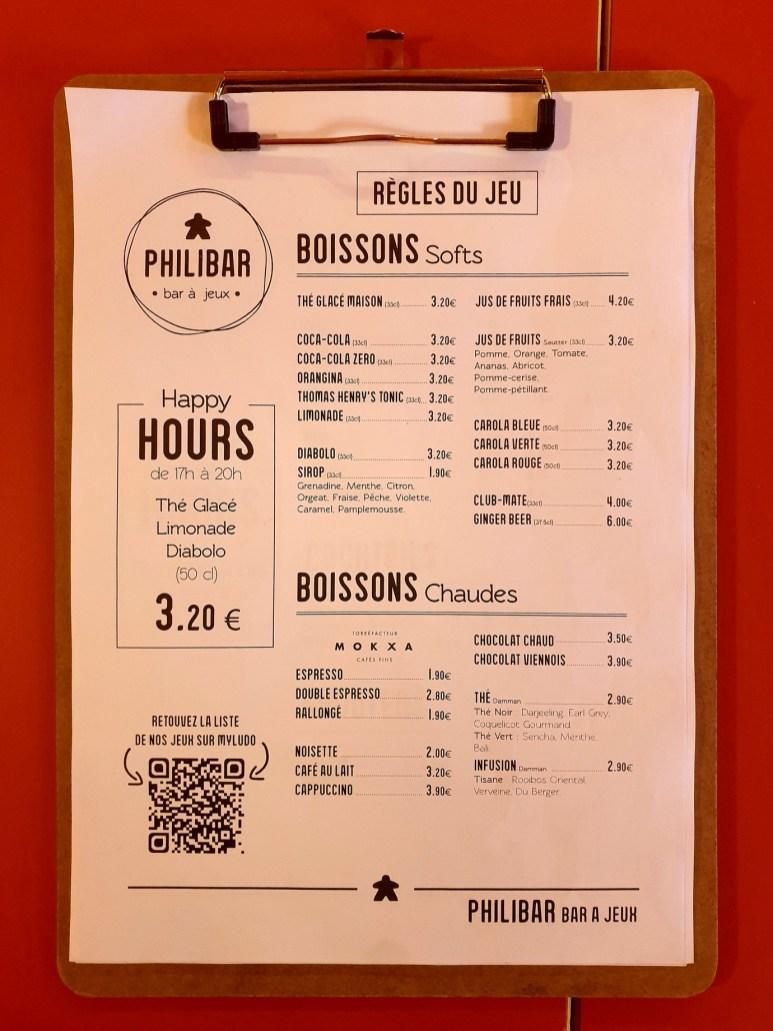 Philibar bar jeux Strasbourg Halles 11