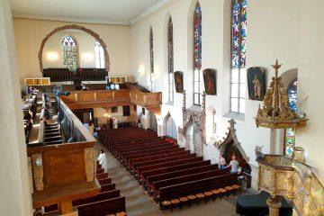 salle principale de l'eglise eglise saint-guillaume